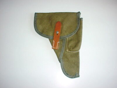 GERMAN ARMY WWII WW2 repro WALTHER P38 canvas AFRIKAKORPS HOLSTER Czech made