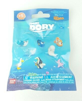 Finding Dory Bandai Series 5 PEACH Blind Bag Collectible Figure Kids Gift K3