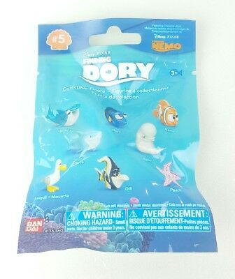 Finding Dory Bandai Series 5 DESTINY Blind Bag Collectible Figure Kids Gift K3