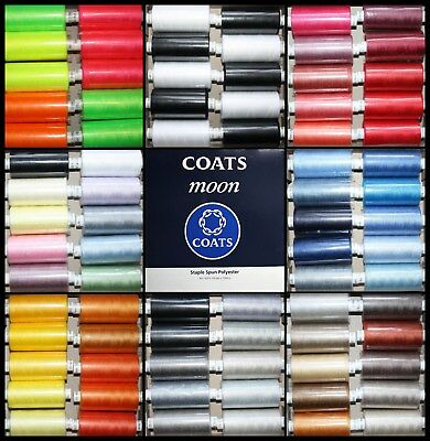 Sale -Mixed Packs Coats Moon Polyester Sewing Thread Machine And Overlocker