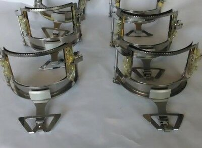 6 Commercial Embroidery Machine Hat Frame Hoops With Bill Holder