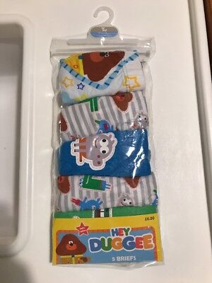 Hey Duggee Boys Briefs Underwear Pack Of 5 18-24 Months