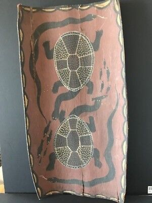 Old Australian Aboriginal Bark Painting …beautiful collection & display piece