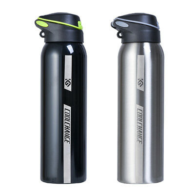 500ml Double Wall Stainless Steel Water Bottle Outdoor Sport Cold Hot Drink AU