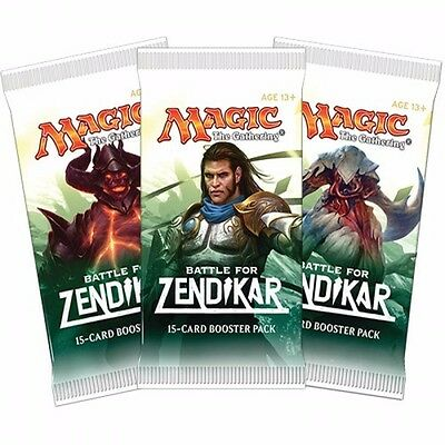 MtG  Booster  BATTLE for ZENDIKAR / Kampf um (englisch) Ulamog+Drana+Expeditions