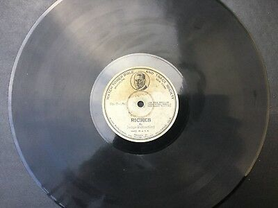 Watchtower phonograph record P-101 P-102 JF Rutherford rare blue