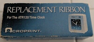 Acroprint Replacement Ribbon for ATR120 Time Recorder, Black/Red
