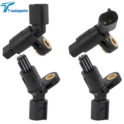 4x For 99-05 VW Volkswagen Golf Jetta Beetle Front+Rear ABS Wheel Speed Sensor
