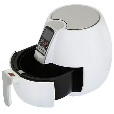 1500W Electric Air Fryer 3.7 Quart Touch LCD Screen Timer Temperature Control
