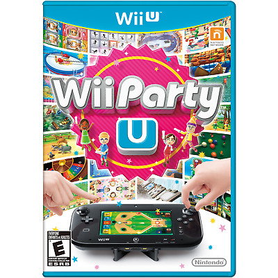 Wii Party U - Game Only (Wii U, 2014)