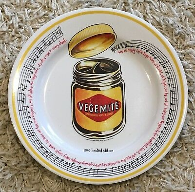 Collectable Melamine Plate - Vegemite - Year 1995 (Limited Edition)
