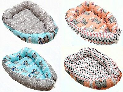 Baby Pod Nest Newborn Reversible Cocoon Bed Sleep Kokon Newborn Cushion UK Stock