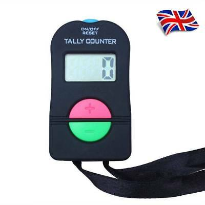 Electronic Digital Up Down Tally Counter Door Supervisor Security Clicker UK