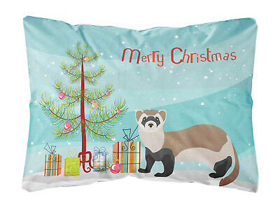 Ferret Christmas Canvas Fabric Decorative Pillow