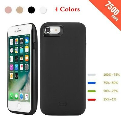 For iPhone 7 7Plus Battery Case External Power Pack Charging Cover Charger UK