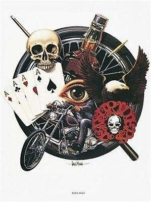 Aces High David Mann   Art  Poster