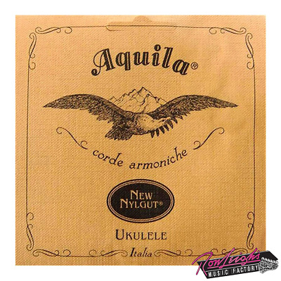 Aquila AQ7U New Nylgut Concert Ukulele Strings with Low G - Made in Italy