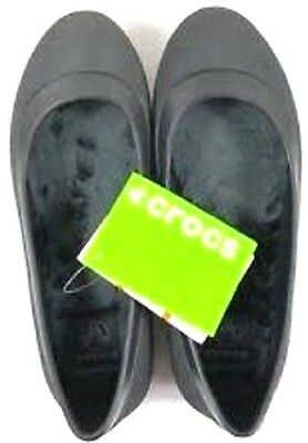 057e62af9a7da Crocs Women s Brown (Espresso) Mammoth Fur Lined Flat Shoes 10 US Relaxed  Fit