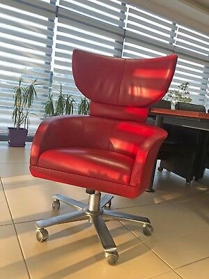 Selectus Chair by Giorgetti Swivel Wing Chair Chefsessel Design Stuhl 52381