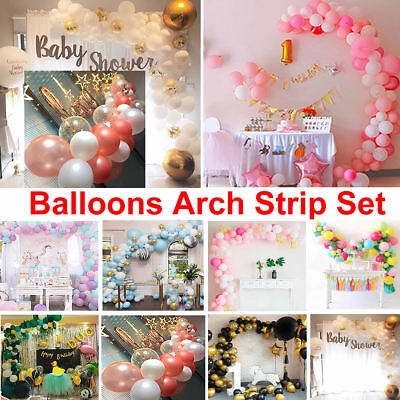 Mixed Latex Confetti Balloons Strip Arch Birthday Wedding Hen Party Baby Shower