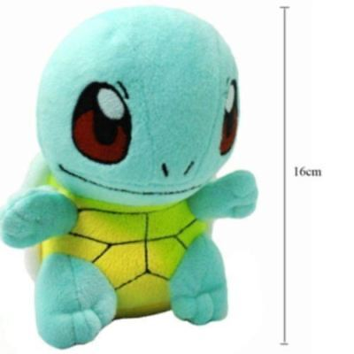 """6.5"""" New SQUIRTLE Lovely Stuffed Soft Plush Toys Doll figure Xmas Gift Pokemon~"""