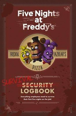Survival Logbook (Five Nights at Freddy's) by Scott Cawthon {Hardcover} NEW