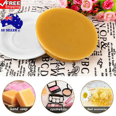 1pc 250g Natural Food Grade Beeswax Pure Bees Wax DIY Soap Cosmetics Lipstick AU