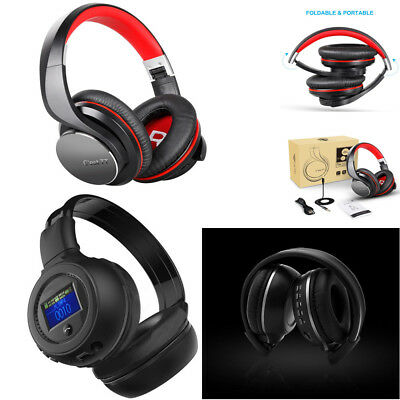 BT 3.0 Stereo Wireless Headset/Headphones With Call Mic/Microphone US
