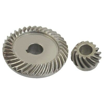 Angle Grinder Spare Part Tapered Bevel Gear Set for LG Silver Metal F6Q2