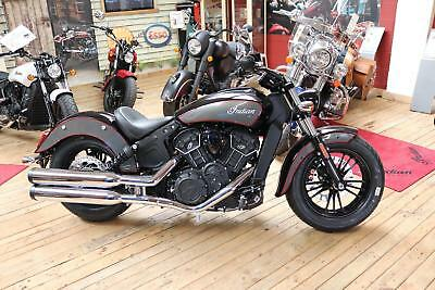 2018 Indian Scout Sixty 60 motorcycle Thunderball Black over Titanium BRAND NEW