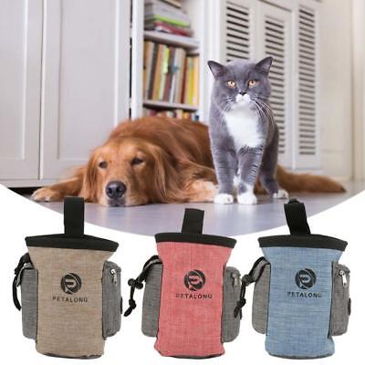 Pet Dog Snack Food Treat Bag Training Obedience Bait Belt Clip Waist Pouch