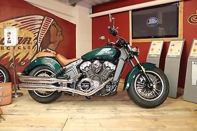 2018 Indian Scout in Metallic Jade - 5 YEAR WARRANTY available now