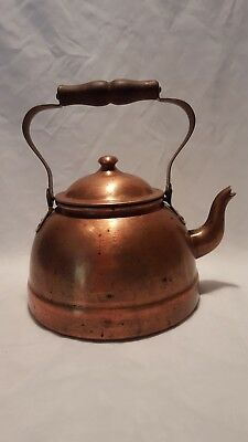 Vintage Paul Revere Copper Tea Kettle