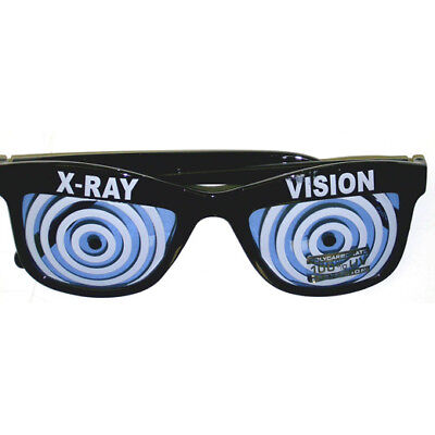 Blue X-Ray Vision Glasses X Ray Specs Goggles Hypnotize  Wayfarer Adult
