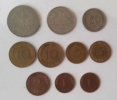 10 Germany Coins (#2)