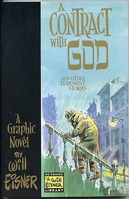 Will Eisner: A Contact with God. Paperback 1st Print