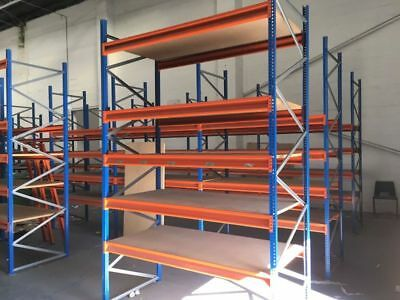Esmena Heavy Duty Industrial Commercial Warehouse Longspan Pallet Racking Bay