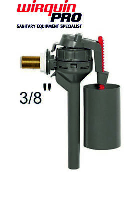 Wirquin 3/8 Inch Topy Brass Side Entry Inlet Fill Float Valve WC Cistern