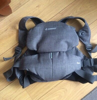 Maxi Cosi Easia Baby Carrier Denim EX DISPLAY *REDUCED* Rrp £60