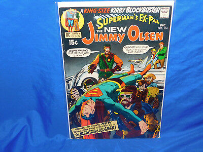 SUPERMANS PAL JIMMY OLSEN #134 1st Appearance Of DARKSEID In Cameo
