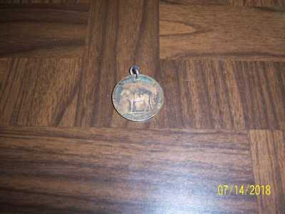 Vintage Token Medal BOY SCOUTS CLUB BSA SCOUT ON HORSE with GOOD LUCK SWASTIKA
