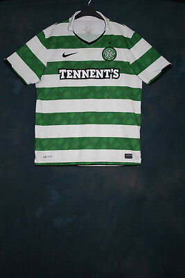 Glasgow Celtic home 2010 2011 2012 Large football shirt jersey top -