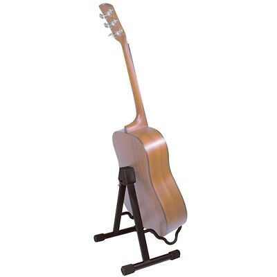 Intune Folding Guitar Stand Foldable A-Frame Music Floor Electric Acoustic Bass