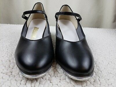 Tap Shoes Women's Size 10 'Designs For Dance'  Black Patent Genuine Leather