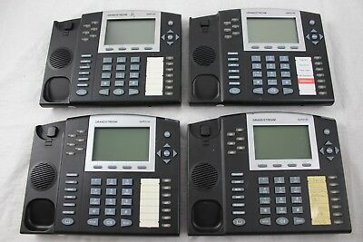 Lot of 4 Grandstream GXP2120 6-Line Executive HD IP Phones - Base Only
