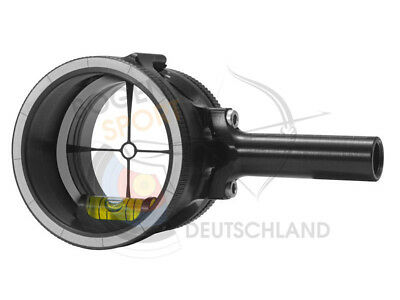 Axcel Scope AccuView AV31 Plus. Schwarz. Compoundvisier Bogenschießen Visier Neu