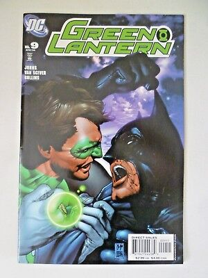Green Lantern 9 1st Appearance and Origin Tattooed Man DC Comics 2006 Batman