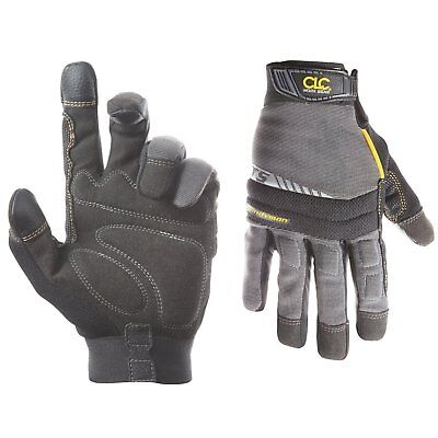 CLC 125L Handyman Flex Grip Work Gloves, Shrink Resistant, Improved Dexterity,