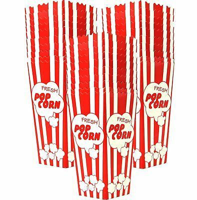 """30 Popcorn Boxes, 7.75"""" Inches Tall and Holds 46 Oz. with Old Fashion Vintage"""