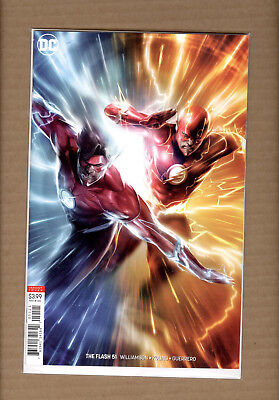 Flash #51 Francesco Mattina Variant Dc Comics Nm
